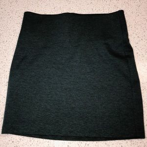 BCBG Generation Gray Mini Pencil Skirt